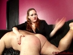 CBTandBallBusting Video: Over the Knee