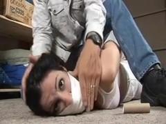 Dahlia tied up