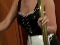 Sexy nymphomaniac reamed in her snatch and ass