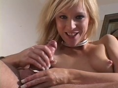 Alexxa Lynn Jerks Off Hard Shlong