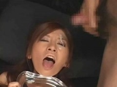 Rino Tomoa - sticky bukkake