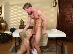 Babe Tricked Into Facial