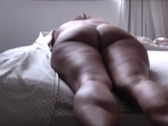 CUM ON THE BUTTOCKS ASIAN WIFE