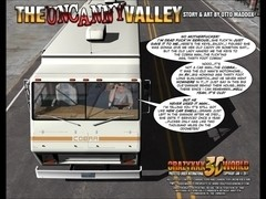 3D Comic: The Uncanny Valley. Episodes 1-2