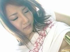 Miku Tanaka Asian model gets Anal Penetration