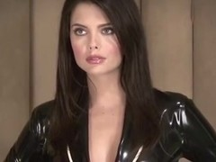 Lara Black Latex Suit