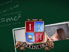 Innocent High - School  Slut  Fucked By Teacher