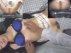 Medical voyeur cam shooting the gyno examination