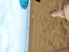 Me, on beach