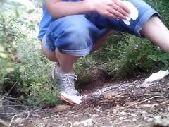 Girls Pissing voyeur video 48