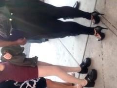 Super fat ass in leggings