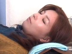 Skinny Japanese teen gets drilled during Gyno examination