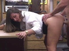 Charming and sexy cooz wants to pawn her ###ken bugle ends up fucked