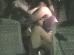 Hot hidden camera Asian fuck on the back seat of the cab