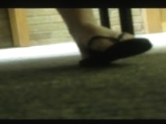 Candid Campus Feet (Library)