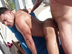 Fuck him by the pool