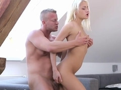 Olivia is curious to try anal sex and her lover is willing to do it