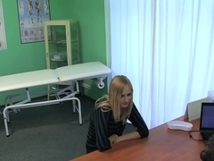 FakeHospital Slender squirting hot sexy blonde