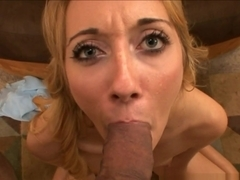 Amazing pornstars Johnny Fender, Emma Haize in Incredible Blonde, Facial porn video