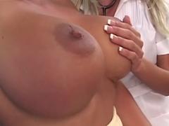 Fabulous pornstar Holly Halston in amazing big tits, mature porn clip