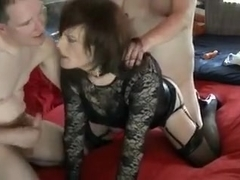 Amazing Amateur Shemale record with Threesome, Mature scenes