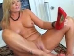 Big butt bitch enjoys a BDSM femdom game
