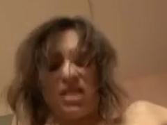 Amber Anal Domination In Bathroom-L1390-