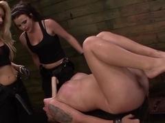 Hottest pornstars Aryah May, Mila Blaze, Brooklyn Daniels in Incredible Squirting, Fetish porn sce.