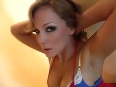 Horny pornstar Nikki Sexx in hottest cumshots, blowjob adult clip