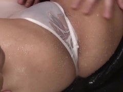 Subtitles - Japanese beauty Rei gets dick in her nice p