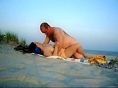 Fucking on the beach