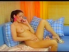 Nina SexySat TV Perfect Tits and Body #2