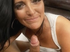 Milf is mouth fucked by Peter's hammer in hd sex video