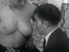 Retro Porn Archive Video: Femmes seules 1950's 12