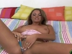 Sadie Sweet doing some hot masturbation of her wet and trimmed pussy