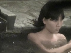Asian small titties seen through the pool water on spy cam nri049 00