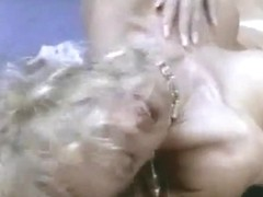 Retro lesbian whores licking their cunts in the airport