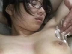 Shaved armpit