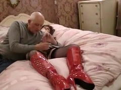 Horny amateur shemale video with Mature, BDSM scenes