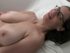 Breasty Tina anal playing