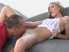 Small Tits Teen Sydney Cole Gets Her Tight Pussy Rammed