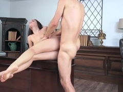 Lana Rhoades fucked at the office