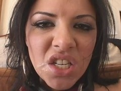 Taryn Thomas gets banged in all holes very hard