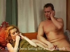 Blonde babe gets spanked and fucked in the ass