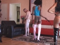 BlackGirlsWhiteSlaves: Whipping White Meat