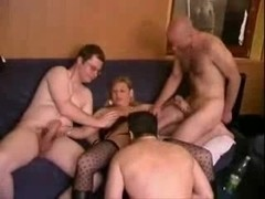 German Swinger Party Orgy - Part 2 - by Poliu