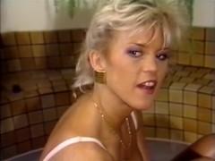 Amber Lynn, Aurora, Tracey Adams in vintage sex video