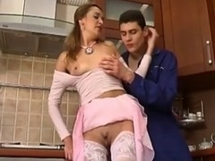 Russian Babes Entice Young Boy-Friend For Fucking,By Blondelover