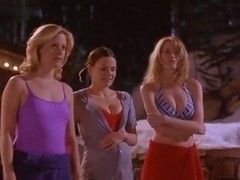 Alison Eastwood,Claudia Schiffer,Suzanne Cryer in Friends & Lovers (1999)