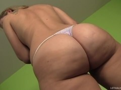 Big Ass Tart Briella Squirts On Fat Cock